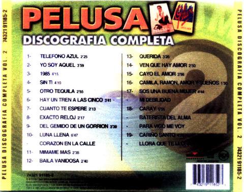 Pelusa - Discografia Completa Vol 2 back