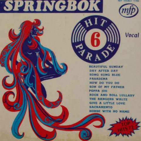 Springbok Hit Parade 6 (1972)