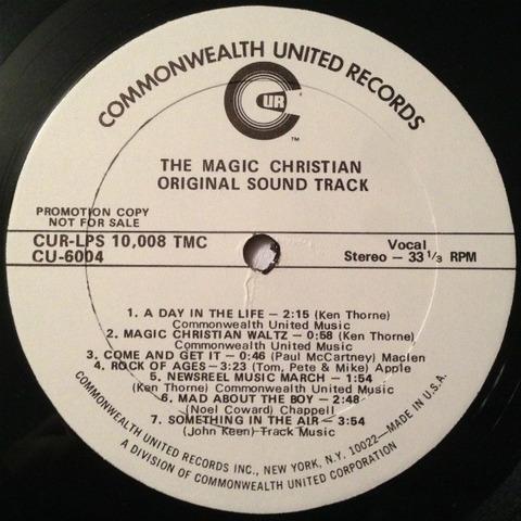 The Magic Christian OST CU 6004 r2