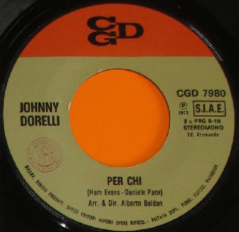 Johnny Dorelli - Per chi r