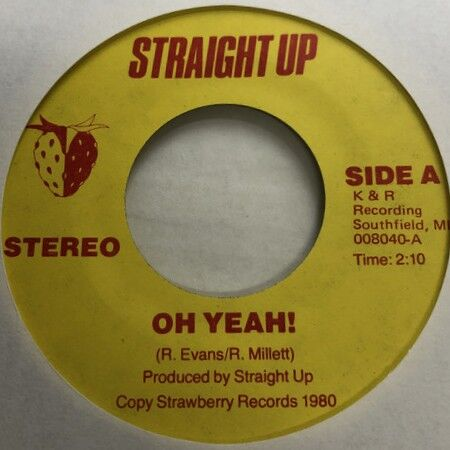 Straight Up - Oh Yeah + For You r1