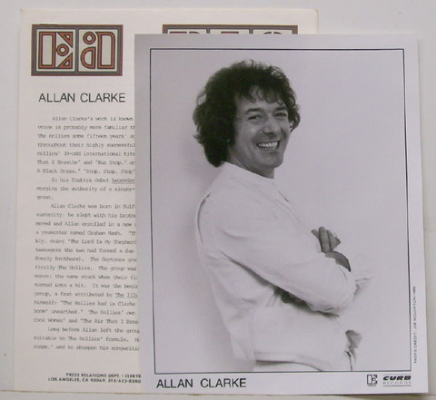Allan Clarke - Legendary Heroes (1980) press kit
