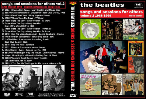 Songs and Sessions for Others vol 2 1968-1969