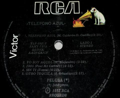 Pelusa - Teléfono azul LP r
