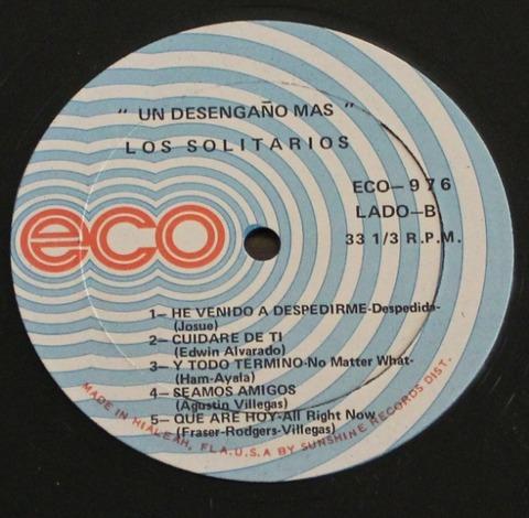 Los Solitarios - Un desengaño más (1971) r2
