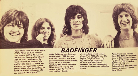 FAB 208 (1971 Annual) badfinger