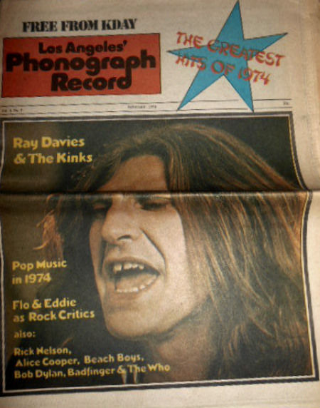 Phonograph Record Magazine (Jan 1974) KDAY