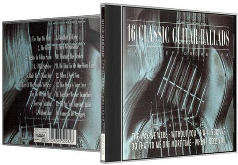 Paul Brett Orchestra - 16 Classic Guitar Ballads b
