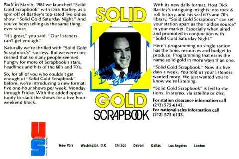 Solid Gold Scrapbook (March 15, 1986) Billboard
