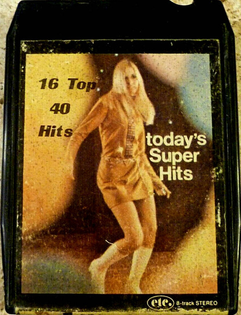 Eastern Tape Corp 8-Track Today's Super Hits Vol 38 a
