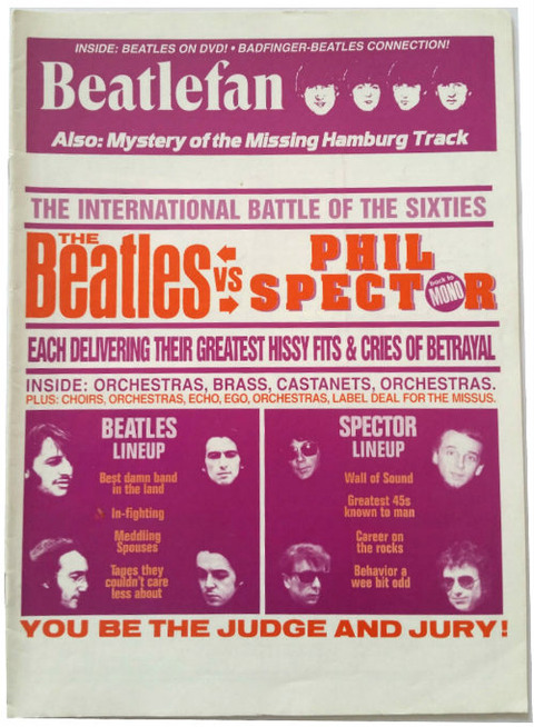 Beatlefan #111 cover