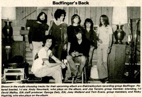 Badfinger 1978 Airwaves
