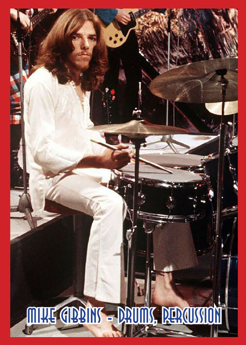 J2 Classic Rock Cards - 712 Badfinger Mike Gibbins