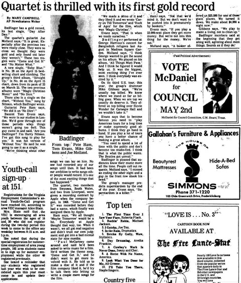 The Free Lance-Star - Apr 29 1972 or