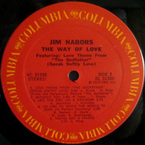 Jim Nabors - The Way of Love (1972) R2