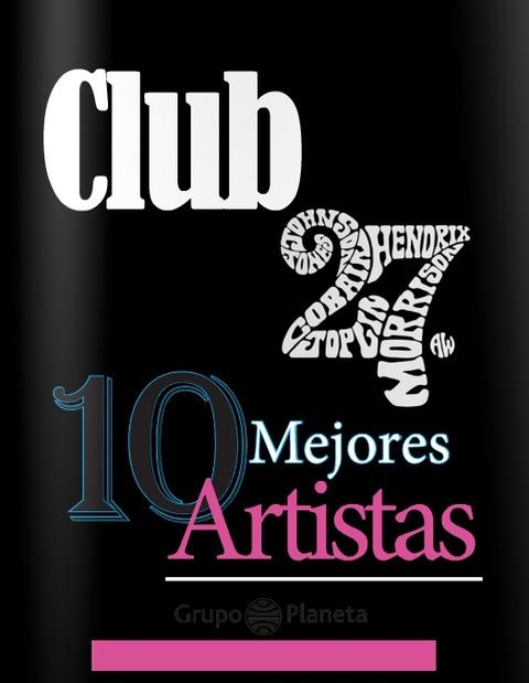 Club27- 10 mejores artistas