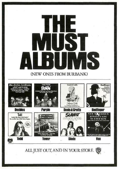 wb ad 1974 the must albums