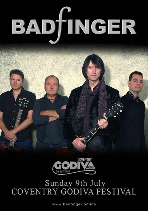 Coventry Godiva Festival July 9, 2017 Badfinger