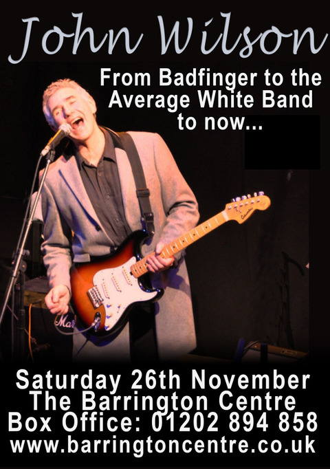 John Wilson The Barrington Centre Nov 26, 2016