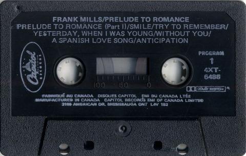 Frank Mills - 4XT-6488 cass r1