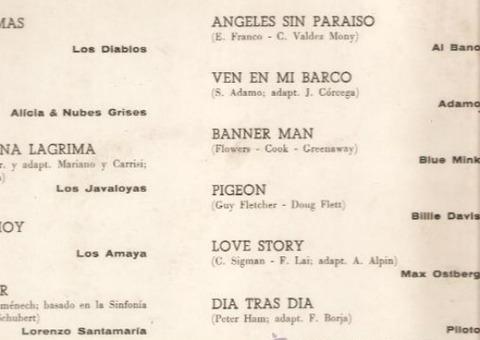 Asi son los hits (1972) b