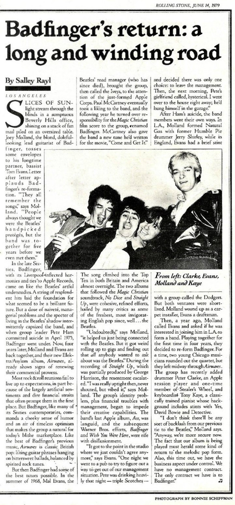 Rolling Stone #293 June 14 1979