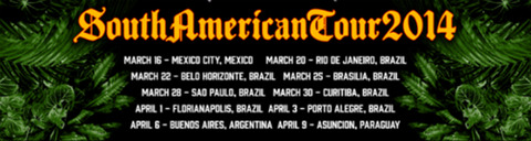 Guns N' Roses - South American Tour 2014