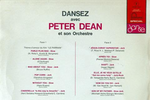 Dansez avec Peter Dean b