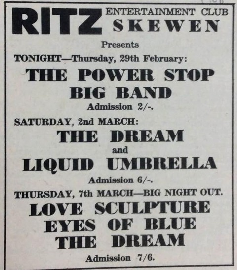 Power Stop Big Band February 29, 1968