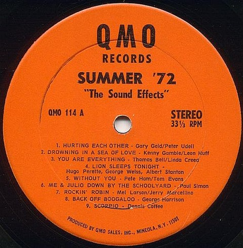 The Sound Effects - Summer '72 (1972) r