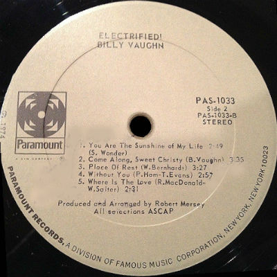 Billy Vaughn - PAS 1033 r2