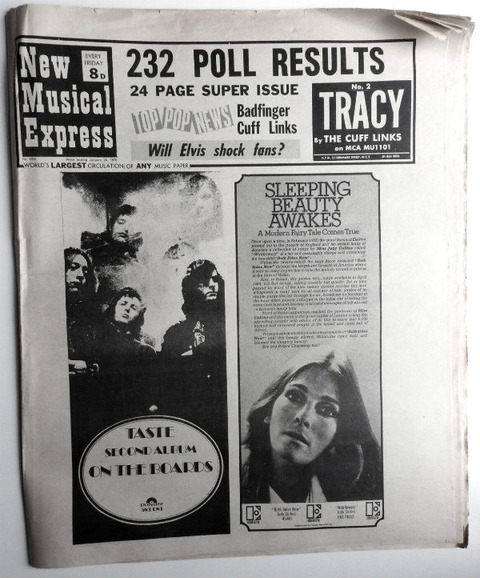 NME #1202 (January 24, 1970) a