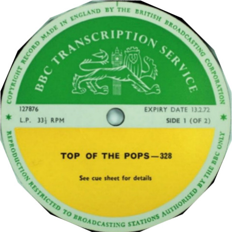BBC 328 Top of the Pops