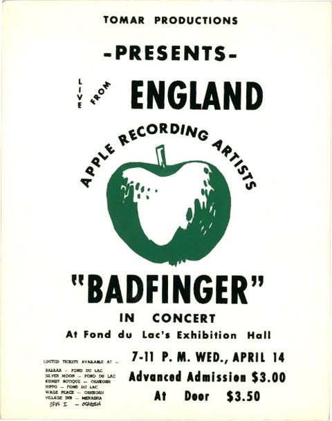 Fond du Lac County Fairgrounds, Wisconsin (Apr 14, 1971)