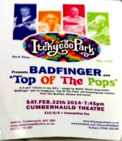 Itchycoo Park Feb 22, 2014 ad
