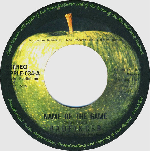 Name of the Game APPLE-034-A