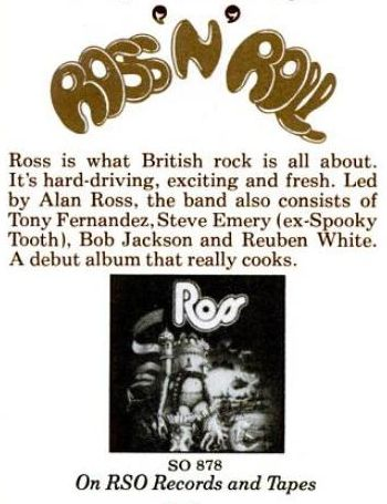 Ross Billboard May 4 1974 ad