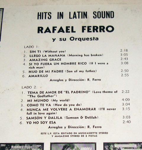 Rafael Ferro - argentina back