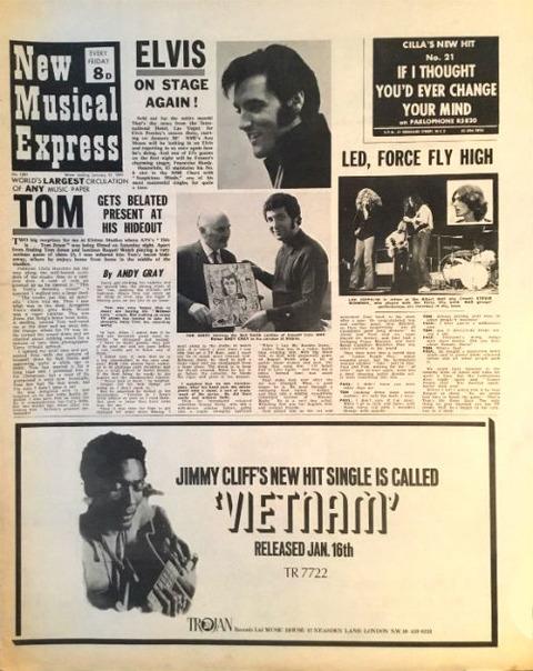 NME (January 17, 1970) a