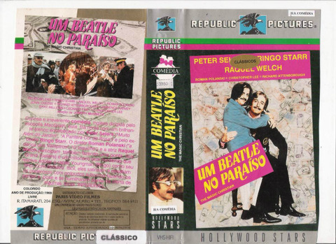 Um Beatle no Paraíso The Magic Christian VHS 101m Brazil