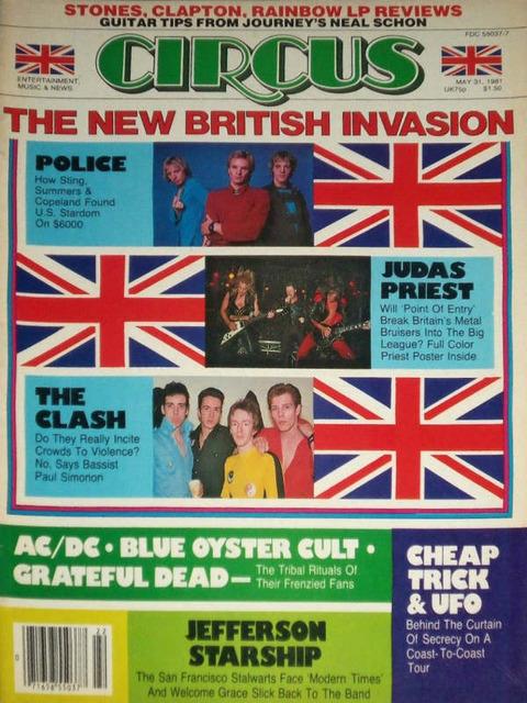 Circus May 31, 1981 cover