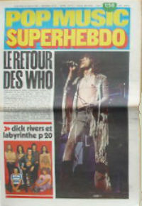 Pop Music Superhebdo #69 22 juillet 1971 cover