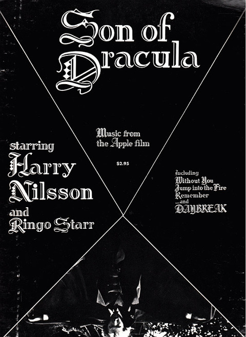Son of Dracula Songbook featuring songs from Son of Dracula