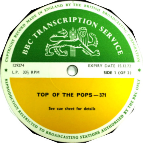 BBC 371 Top of the Pops
