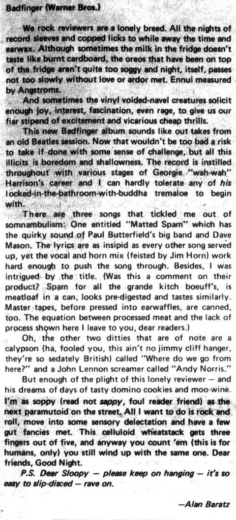 The Spectrum (April 26, 1974)