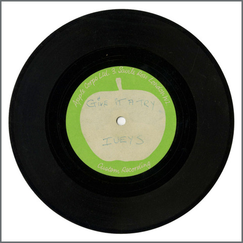 B28944 - The Iveys - 1970 Give It A Try Apple Acetate