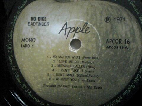 No Dice LP 1971 Brazil r1