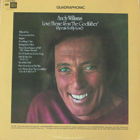 Andy Williams - CQ 30313