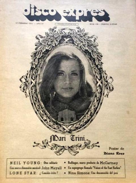 Disco Expres #109 (Feb 12, 1971) cover