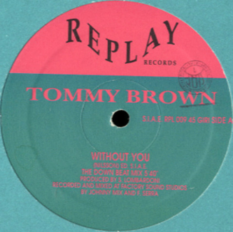 Tommy Brown - Without You RPL 009